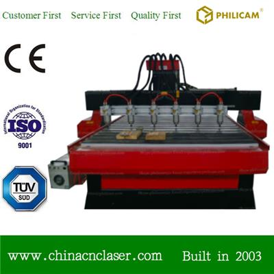 Woodworking 6 Spindle Multi Head Cnc Router