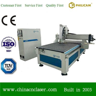 Automatic Too Changer Furniture Woodworking Cnc Router 1325 With ATC