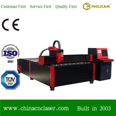 500W Fiber Metal Laser Cutting Machine For Thin Metal Sheet 1500*3000mm
