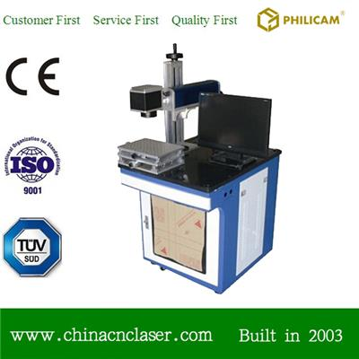 10w Fiber Laser Marking Machine For Logo Marking On Metals And Plastic Materials Marker