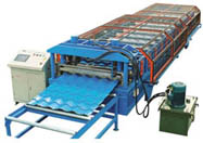 roll forming machine for steel tiles