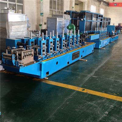 High Precision Steel Tube Mill Pipe Making Machine Line