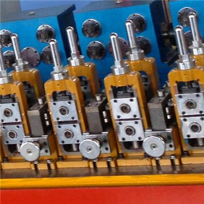 Aluminum TV Antenna Tube Making Machine Pipe Mill
