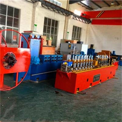 Aluminum Square Tube Making Machine Pipe Mill Line