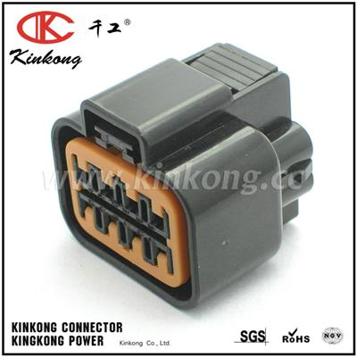 Replacement KUM KET 8 Pin Motor Vehicle Electrical Female Plug Connector With Terminal
