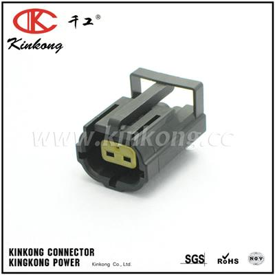 Genuine TE CONNECTIVITY 2 Way Waterproof Female Plug Electrical Wire Auto Connector 344276-1