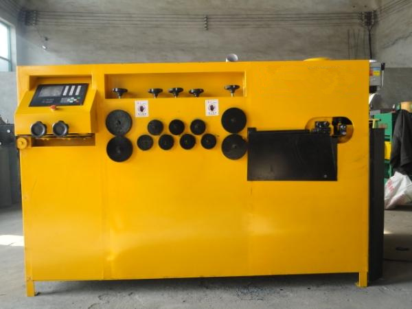Steel rebar bending machine