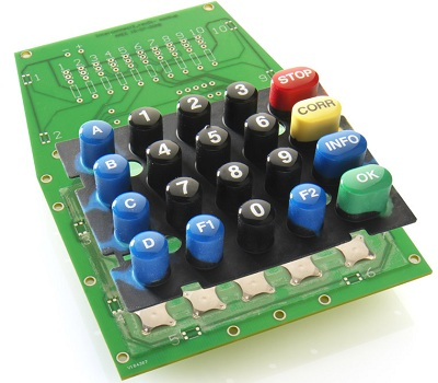 Rubber Keypad Assembly