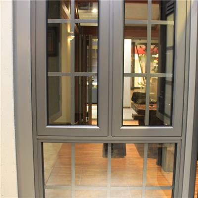 Heat Insulated Energy Preservation Anodized Commercial Type Aluminium Side Hung Window