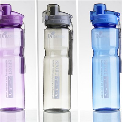 Customized Logo 0.8L Plastic Travel Water Bottle For Promotional Gifts