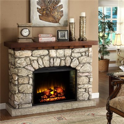 Home decorative electric fireplace