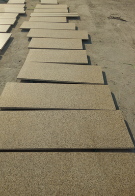 Low price natrual stone granite step or stair tiles cut in size