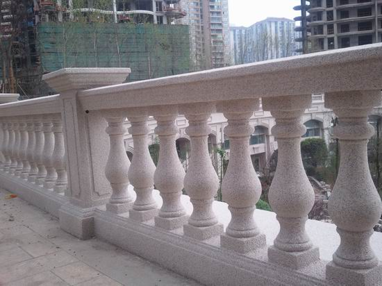 Factory customised granite balcony railing free designs,granite vase railing,  granite bridge railing,granite flower pot