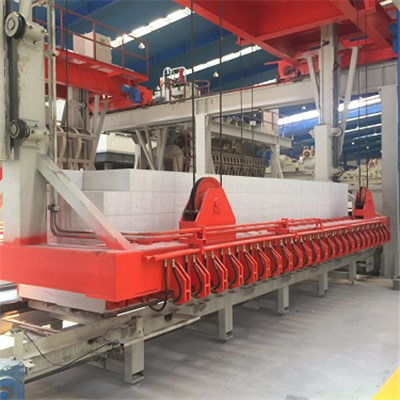 Autoclaved Aerated Concrete(AAC) Block Making Machine