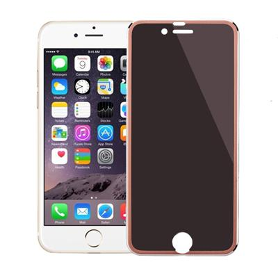 Rose Gold Privacy Tempered Glass For IPhone6 6P