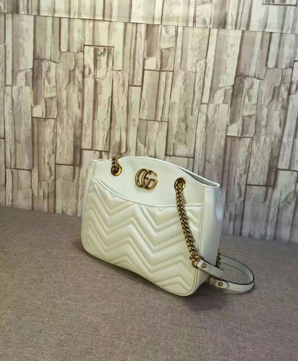 Gucci GG Marmont matelasse tote bag in itpurse.cn