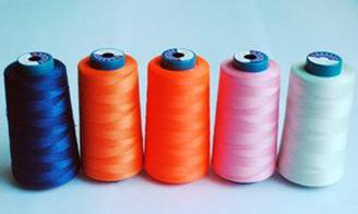 Low elongation, no elasticity Polyester /Nylon sewing thread