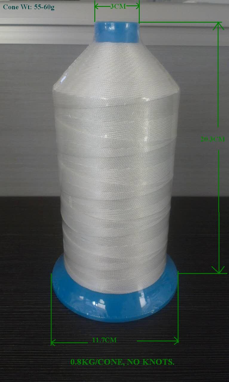 Polyester high tenacity Banded thread