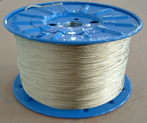 high tensile strength, good anti-impulsion, tear-proof Steel wire rope