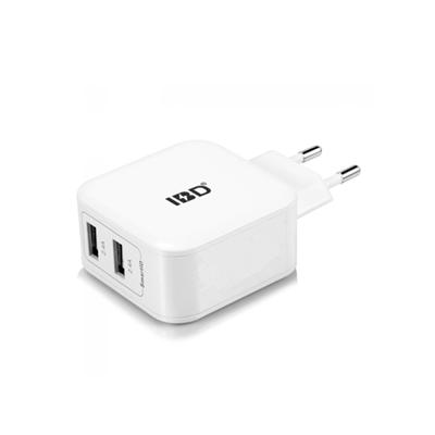 IBD usb travel charger 5v 2 .4a travel charger high quality safety fast charge
