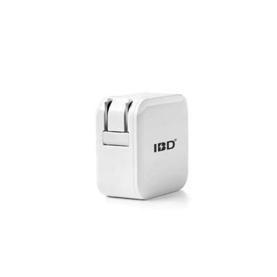 Dual USB 5V2.4A travel wall charger with foldable plug for iPhone iPad,Samsung Galaxy,HTC Nexus