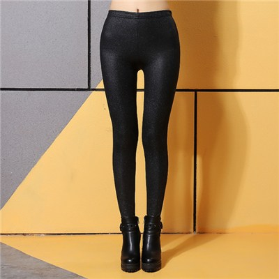 Luster Faux Leather Leggings