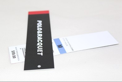 UHF Paper apparel hang tag