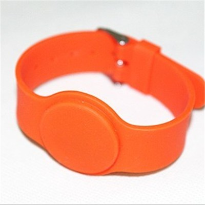 RFID Silicon wristband tag(watch clasp type)