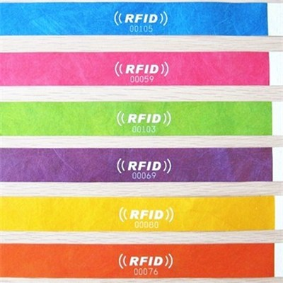one-off Tyvek rfid wristband tag