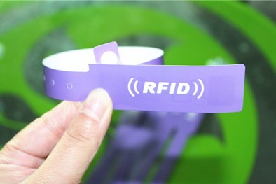one-off paper rfid wristband tag