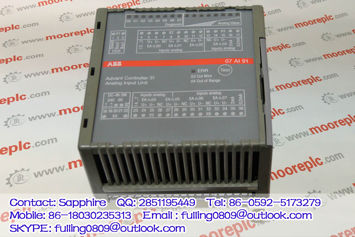 Supply ABB Controller WT98 07KT98
