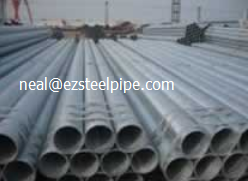 ERW Steel Pipe Structural Tube (EN10219 BS1139)