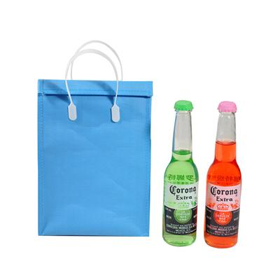 Portable Non Woven Thermal Insulated Water Drink Cooler Bag