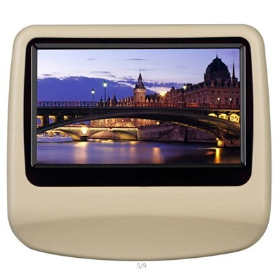 9 Inch High Quality Headrest DVD Monitor Car Touch Monitor