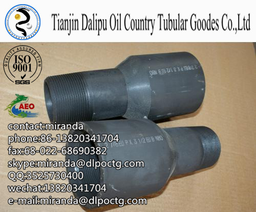 api oil pipe cross over  x-over for caing pipe