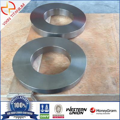 ASTM B381 GR12 / TA10 OD200×ID110×30 Titanium Alloy Ring With Competitive Price