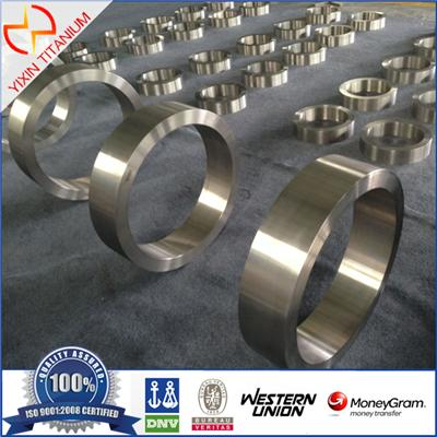 ASTM B381 Gr2 High Mechanical Properties Titanium Forged Ring With Large OD
