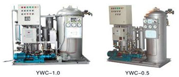 YWC Type 15ppm Oily Water Separator