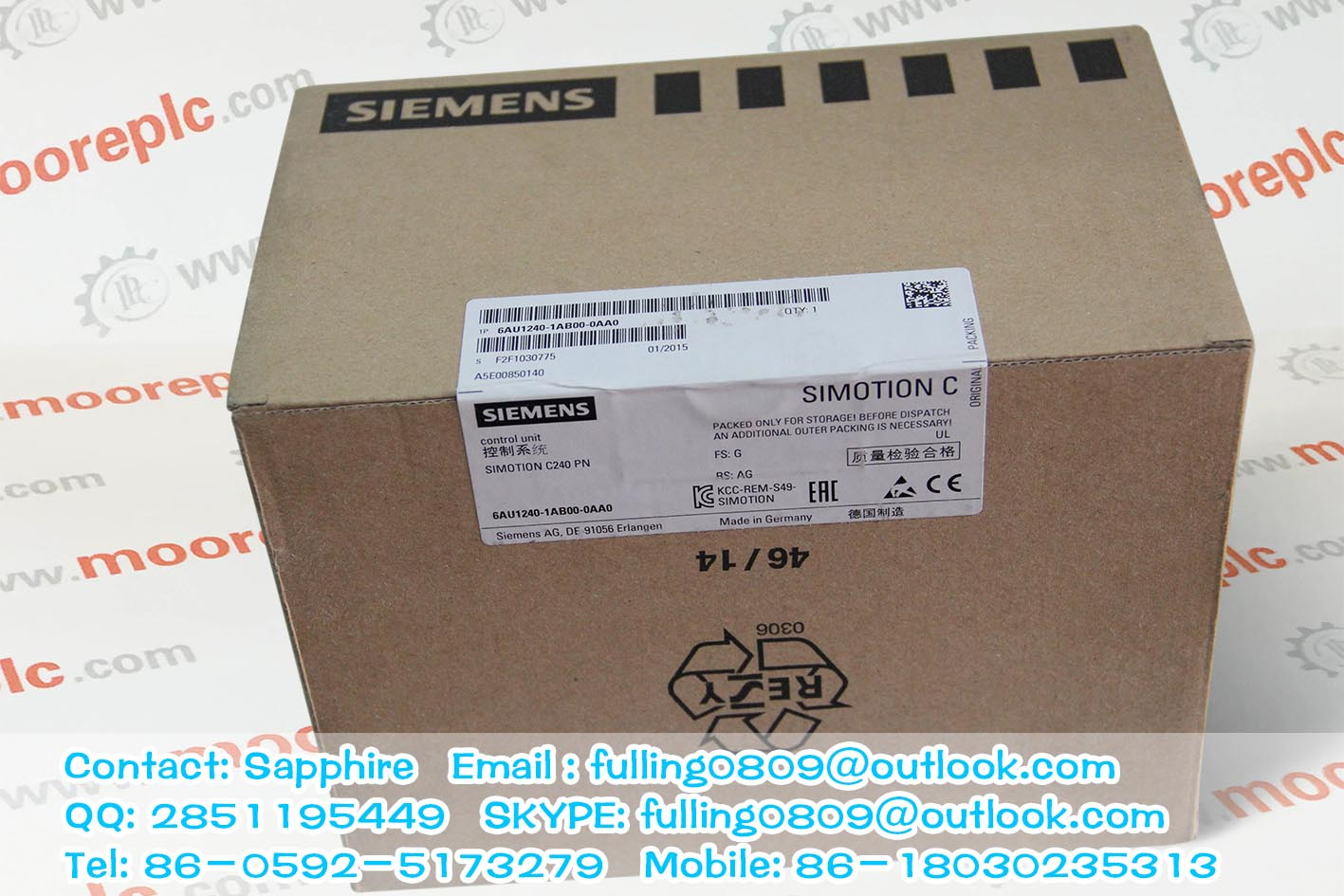 SUPPLY Siemens Moore PLC 39RTMCAN