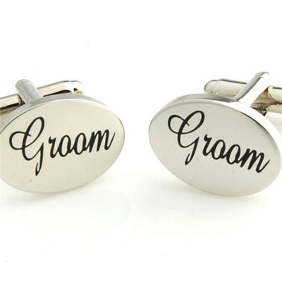 Promotional Gift Men's Printing Cufflinks