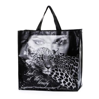 Good Quality Reusable Transparent PP Shopping Bag