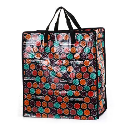 Colorful printing promotional pp woven bag