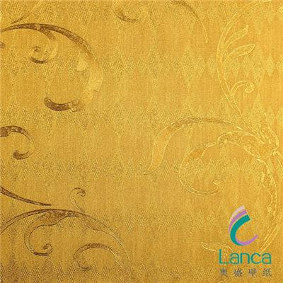 Home Interior Decoration Metallic New Design Wallpaper LCJH0028167
