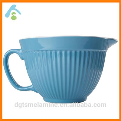 Personalized Melamine Mixing Bowl With Handle