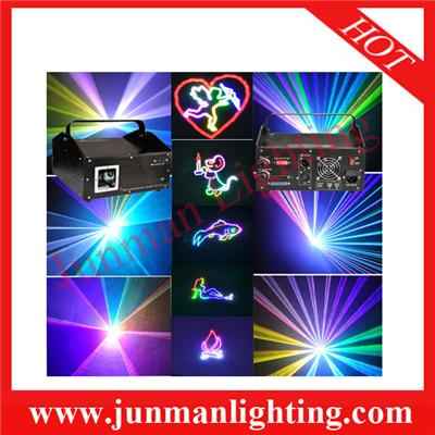 3w RGB Ainmation Laser Light Disco Party Light