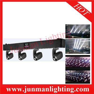 4*10w White LED Beam Moving Head Light Stage Disco Party Light