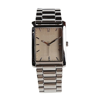 Customizable Rectangle Men's Business Quartz Watch