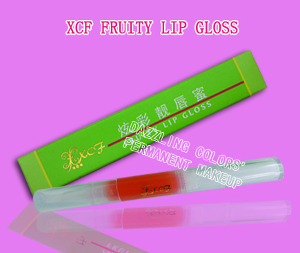 XCF fruity lip gloss/lip tattooing/dazzling colors/Permanent makeup Training