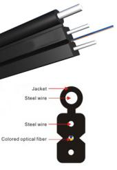 Indoor Optical Fiber Cable  Self-supporting FTTH  Fiber Cable