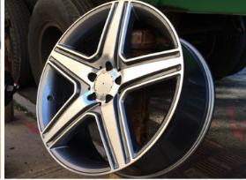 Silver Alloy Wheels 13x6.5 13x7 13x6